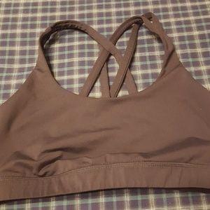 Lululemon strappy sports bra size 8